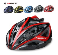 New Cycling BMX MTB Bicycle Bike Hero Helmet With Visor Carbon integrated with insect nets cycling accessories parts 6 Color