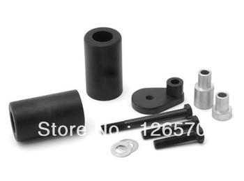 Free Shiping  Black Frame Slider Fairing Protectors No Cut For Suzuki GSXR GSX-R 600 750 2000 20001 2002 2003