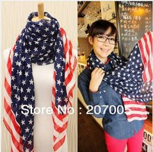 flag scarf promotion