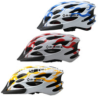 New Cycling MTB Mountain BMX Bicycle Adult Road Hero Bike 28 Holes carbon Multi-color Helmet w Visor In Stock Free Shipping