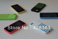 DHL Free Shipping colorful silicone case for iphone 5C,new soft case for iphone 5c 50pcs/lot