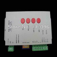 dc 5-24v T-1000s rgb strip led pixel controller,support ic ws2801 ws2811 6803 controller,max control 2048 pixels