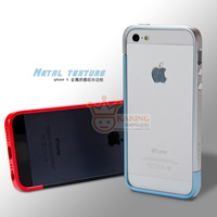 For apple   phone case  for iphone   5 stunning metal plastic quality combination box protective case