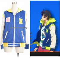 Janpan Anime Free! Haruka Nanase Coat ED Cosplay Custom Made