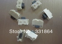 Free shipping 20 pcs 2 x4x3.5 mm  2 * 4 * 3.5 mm, touch switch SMD MP3 MP4 MP5 Tablet PC power button switch