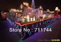 Free shipping/9colors 10m 100leds waterproof string Lights with 8 Lighting Modes  for Wedding Christmas  w/ End Plug EU Plug