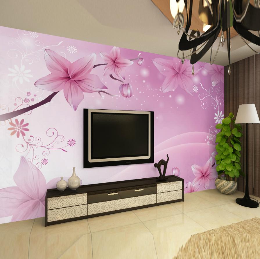 Peintures murales orchid es promotion achetez des for Papier autocollant exterieur
