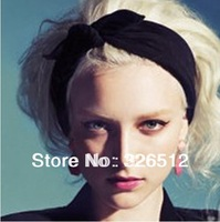 NEW Arrival Fashion Lovely Girl's Elegent Bow Knot Hair Head Band Present 4Pieces/lot