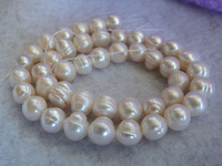 World's Cheapest wholesale freshwater pearl (9-10MM) 50PCS DHL free shipping