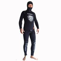 Free shipping Wetsuit Jumpsuit Full 5mm Men's Scuba Diving Jump Suit Warm Swim Surf Snorkeling