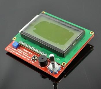 Freeshipping smart controller RAMPS1.4 LCD 12864 3D Printer