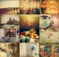 Free Shipping! bentoy the photographic style large size postcards/Christmas Card/Greeting Card/36 pcs/set Postcard Gift