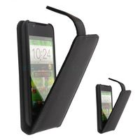 Free shipping genuine Doormoon flip leather cove case for ZTE V955 N880G with retail package