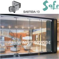 SUS304 grade stainless steel glass door bolt for folding door system