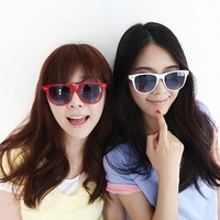 2013 women's fashion candy color meters sunglasses polarized sun glasses vintage sunglasses