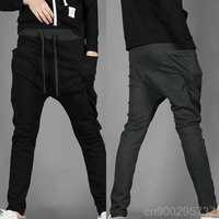 MEN'S DRAWSTRING ELASTIC WAIST SPORTS PANTS MF-41272