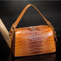 crocodile pattern skin shoulder bag,designer brand women leather handbags,tote hobos bags,off the shoulder items,013