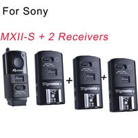 Aputure Trigmaster MXII-S + 2receivers Wireless Strobe Flash & Speedlight Flash & Camera Shutter Trigger For Sony A77 A55 etc