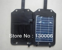 5 w Solar cell phone charging treasure, solar charger
