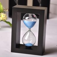 Time hourglass decoration glass hourglass bottle hourglass timer gift hourglass 10 minutes free shipping