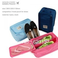 free shipping shoe travel bag waterproof shoe box storage shoe bag