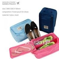 free shipping shoe travel bag waterproof shoe box storage shoe bag