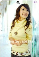 New hot-sale polypropylene knitted pullovers women's sweater&fashion lady sweater (free shipping)