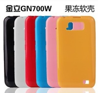 Protective Soft color jelly case TPU Back Case for GIONEE GN700W or Fly IQ441 Radiance Smartphone protective case