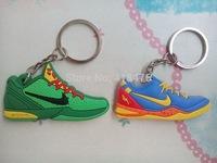 Free shipping (10pcs/lot) Sneaker Key Ring,Keychain basketball shoes keychain