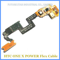 30pcs/lot Brand New Power On/Off Connector Flex Cable Ribbon for HTC One X S720e G23 Free dhl Wholesale