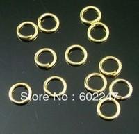 Jumpring, Rings, DIY Jewelry Jump rings Wholesales, 5mm, 1000pcs/lot