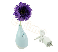New Purple Artificial Flower Vase Aerobic Anion Pure Air Cleaner Vase14937