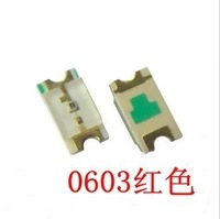SMD light-emitting diode LEDs red green yellow 0603 SMD 3 kinds*100pcs 300pcs/lot free shipping