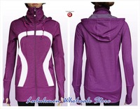 FREE SHIPPING lululemon Striden yoga clothing women's sweater/out wear  wholesale LULULEMON coats /jackets warm coat&sportswear