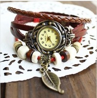 Ebay blasting models of foreign Watch, leather couple watches, retro leather bracelet watches