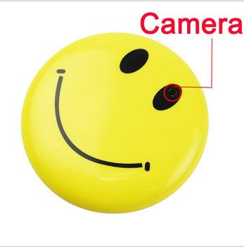 new 2014 4G 8Gb 16G Mini HD PC Car Meeting Smile face Shape Hidden Camera DV DVR Smile  + tv out avp005c 30fps