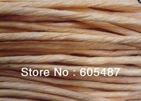 Free shiping 4mm kraft Paper twine handle twine for gift bag
