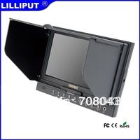 "Lilliput 5D-II/O/P 7"" 16:9  LED Field Monitor with HDMI and foldable sun hood Equipped with focus assist and peaking function"