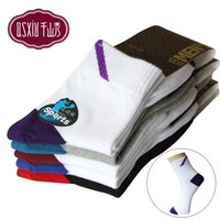 Fashion combed cotton sports socks men polo 7320