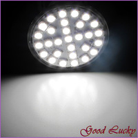 10 PCS/Lot Free Shipping  29 SMD 5050 GU10 Lamp LED Bulb 5W Pure White Light AC220V LED0250