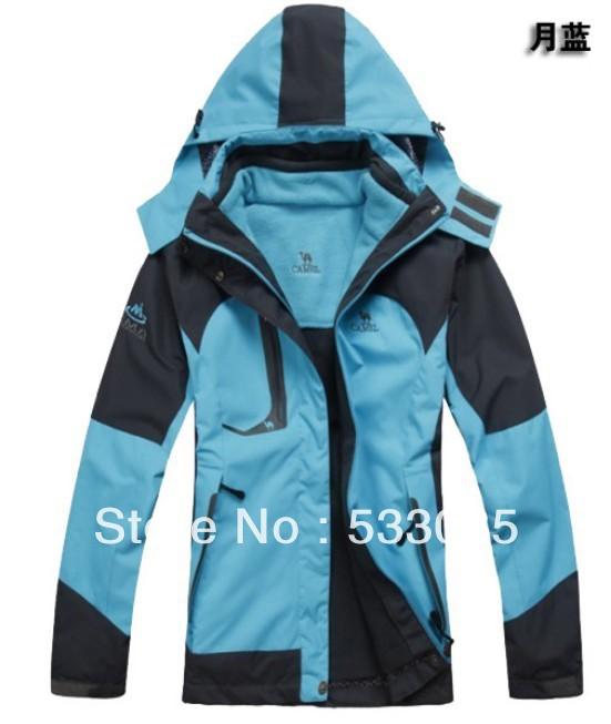 Fashion mountaineering jacket men jacket windproof waterproof outdoor sports ski suit SMHF8866B(China (Mainland))