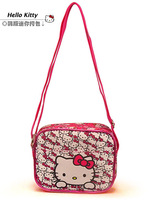 1pcs Hot Selling Hello Kitty Messenger bag  Children girls small bag   Free Shipping