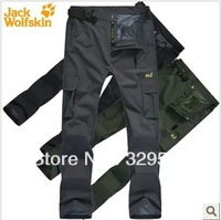 Free Shipping pants fashion waterproof outdoor thermal twinset men's clothing ski trousers L,XL,XXL,3XL,4XL