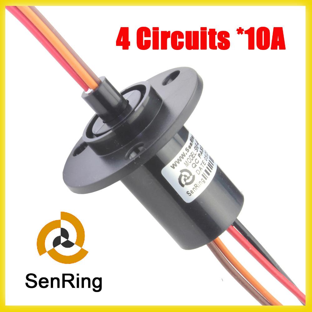 Wind Turbine Slip Ring 4 Circuits Each 10a Of Generator