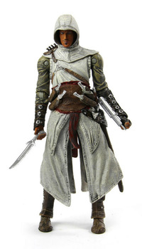 """NECA Assassin's Creed Action Figure Altair Player Select Movable Joints PVC 7"""" Game Toys Free Shipping"""