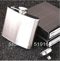 Free Shipping Hot Sales Ourdoor Portable 5OZ Liquor Hip Flask Wine Pot Flagon with Funnel