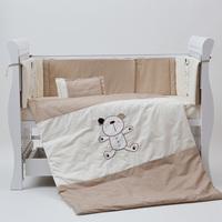 Fashion baby bedding baby bedding kit my teddy beightening bed around quilt