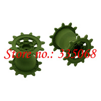 HENG LONG 3889/3889-1 RC tank Leopard 2 A6 1/16 spare parts No.TK-MDW3889 Metal track driving wheel / drive wheel / sprocket