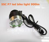 5X SSC P7 led bike light 1000lm led bicycle Light ,third gear dimming memory circuit