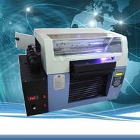 A3 Size UV LED Printer 6 Color Max. Print Thickness 20CM UV Embossed Image Printer Machine/White Ink UV Printer